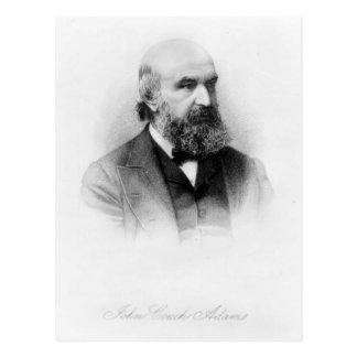 John-Couch Adams, graviert von George J. Stodart Postkarte