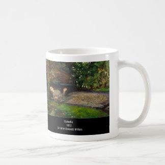 John Everett Millais , Ophelia Kaffeetasse