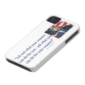 John F. Kennedy Case-Mate iPhone 4 Hüllen