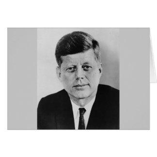 John F. Kennedy Karte