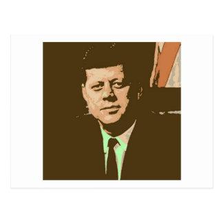 John F. Kennedy Postkarte