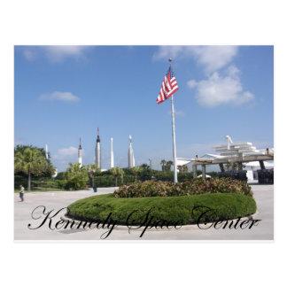 John F. Kennedy-Raumfahrtzentrum Postkarte