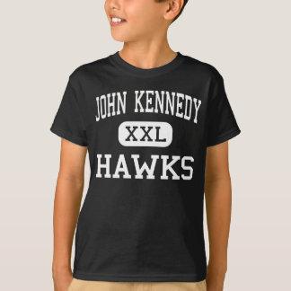 John Kennedy - Falken - Mitte - der Hudson T-Shirt