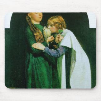 John Millais- le retour de la colombe dans l'arche Tapis De Souris