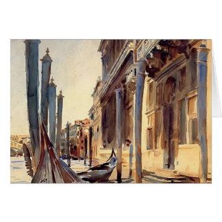 John-Sänger Sargent- Canal Grande, Venedig Karte