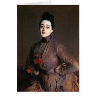 John-Sänger Sargent- Flora Priestley Karte