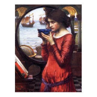 John William Waterhouse-Schicksal Postkarte