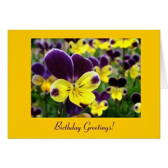 Johnny springen herauf Geburtstag Karte