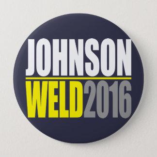 Johnson-Schweißung 2016 Runder Button 10,2 Cm