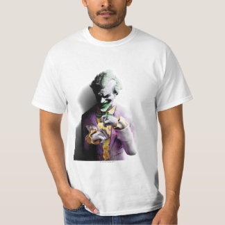 Joker Batman Arkham Stadt-| T-Shirt