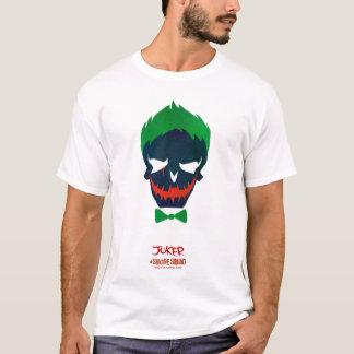 Joker-Kopf-Ikone der Selbstmord-Gruppe-| T-Shirt