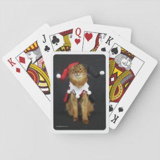 Joker-somalische Katzen-Spielkarten Spielkarten