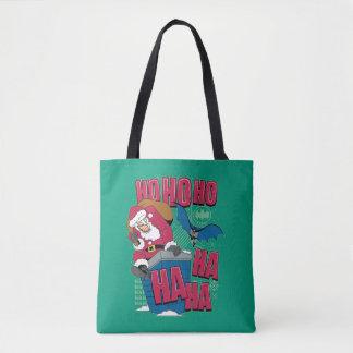 Joker Weihnachtsmann des Batman-|, der heraus Tasche