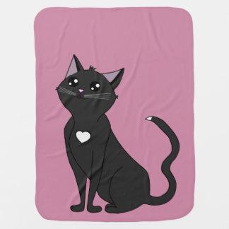 Jolia die Katze, bewundern mich! Baby-Decken
