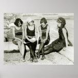 Jolies filles, les années 1920 posters