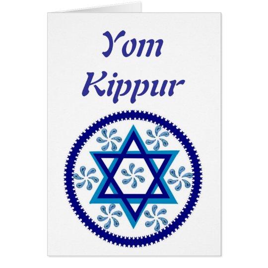Jom Kippur Karte