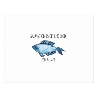 Jonas-2:9 Postkarte