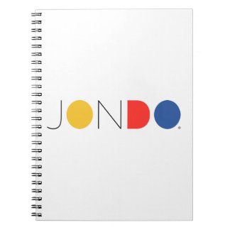 JONDO gewundenes Notizbuch Notizblock