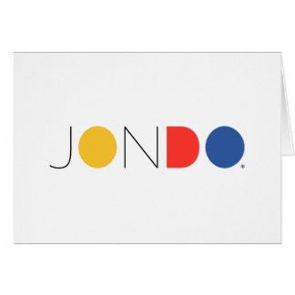 """JONDO Standard (5"""" x 7""""), weiße Standardumschläge Grußkarte"""