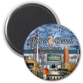 Jones-Strand Jpg Runder Magnet 5,7 Cm
