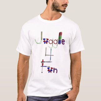 Jonglieren Sie T - Shirt des Spaß-4