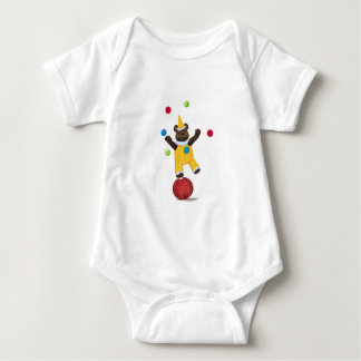 Jonglieren Sie Teddy-Bärn-Strampler Baby Strampler