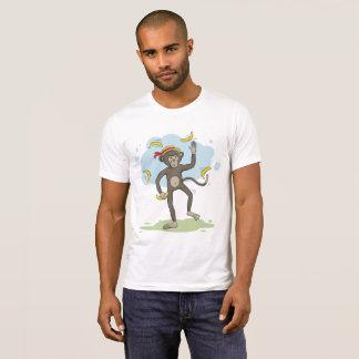 Jonglierende Bananen des Affen T-Shirt