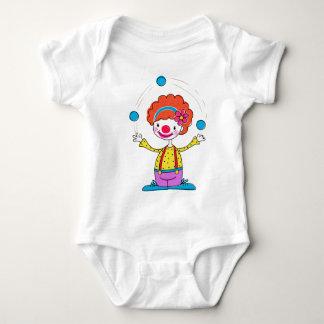 Jonglierender Clown Baby Strampler