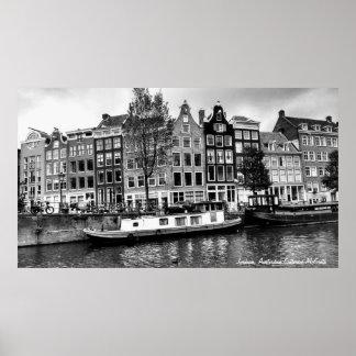 Jordaan Bezirk, Amsterdam Poster