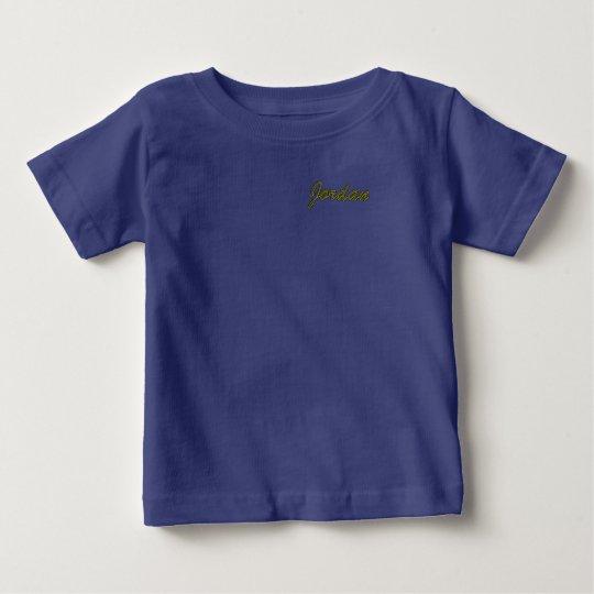 Jordanien-Baby-Geldstrafe-Jersey-T - Shirt