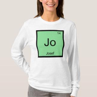 Josefnamenschemie-Element-Periodensystem T-Shirt