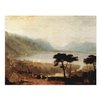 Joseph Mallord Turner - Genfersee in Montreux Postkarte