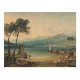 Joseph Mallord William Turner - Genfersee Postkarte