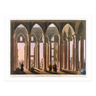 Josephs Hall im Schloss von Kairo, überziehen 31 Postkarte