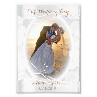 Jour du mariage décoratif - modèle photo