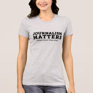 Journalismus ist heute der T - Shirt der Frauen