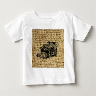 Journalist scripts antike Schreibmaschine der Baby T-shirt