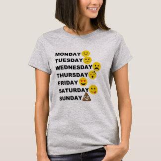 Jours d'Emoji T-shirt