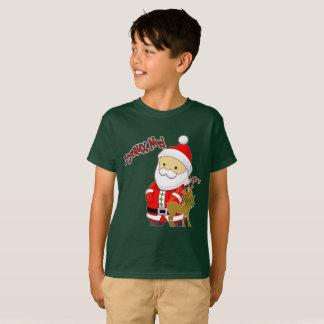 Joyeaux Weihnachten scherzt WeihnachtsT - Shirt
