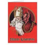 Joyeuses cartes de Noël de Krampus