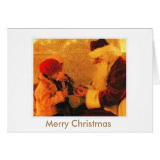 Joyeux Noël Carte De Vœux