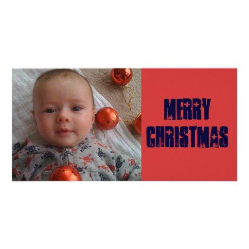 Joyeux Noël Photocarte Personnalisée