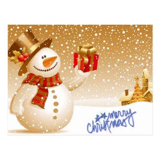 Joyeux Noël Carte Postale