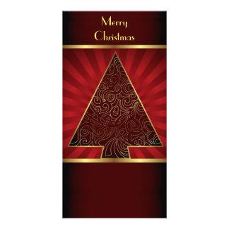 Joyeux Noël de carte photo Modèle Pour Photocarte