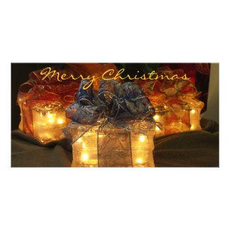 Joyeux Noël Photocard Photocarte Personnalisée