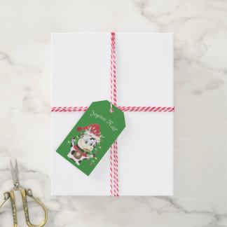 Joyeux Noël Snowbell Geschenkumbau Geschenkanhänger