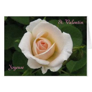 Joyeux St. Valentin Karte
