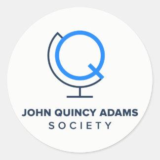 JQA Gesellschafts-Logo-Aufkleber Runder Aufkleber