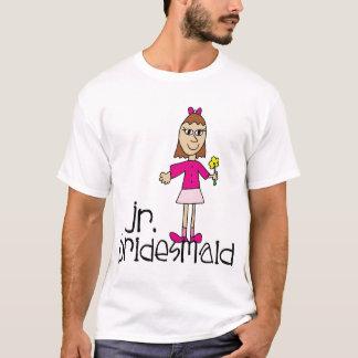 Jr. Brautjungfern-T - Shirt-Kleid T-Shirt