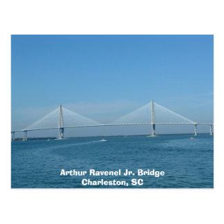 Jr.-Brücke Arthur-Ravenel Postkarte